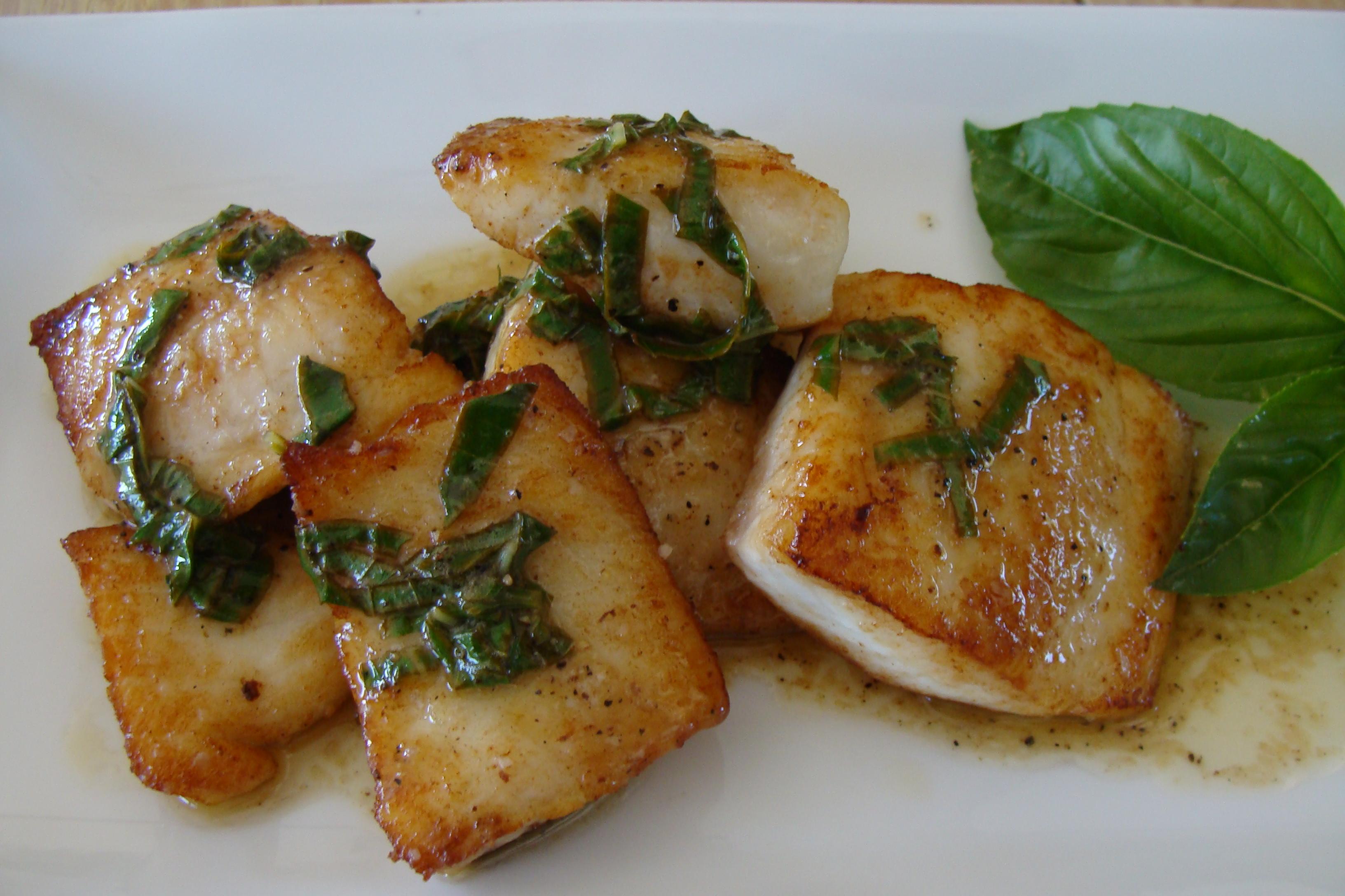 Fish friday tilapia with lemon basil sauce vivek 39 s for Sauce for fish