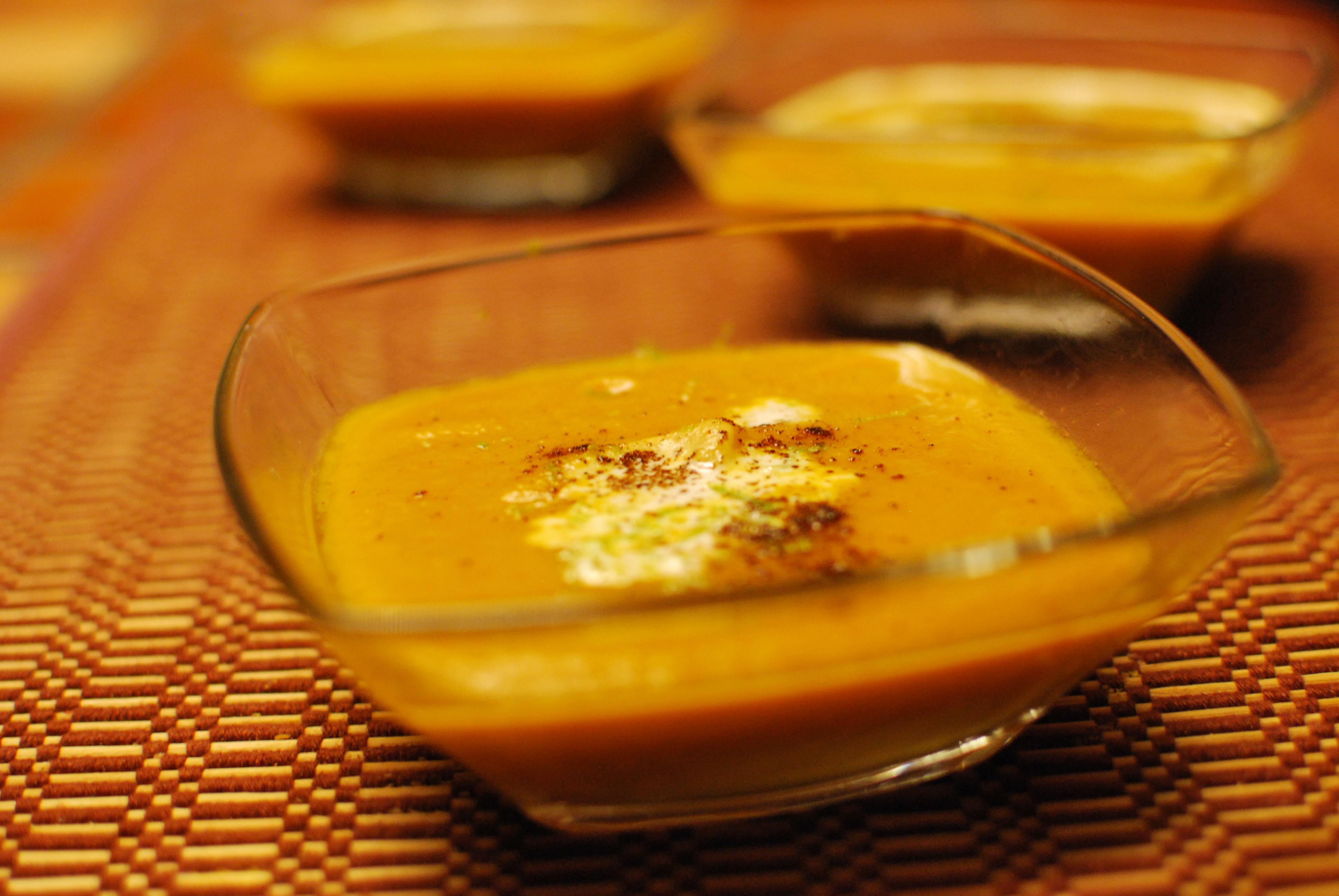 Vivek's Epicurean Adventures » Chipotle Butternut Squash Soup