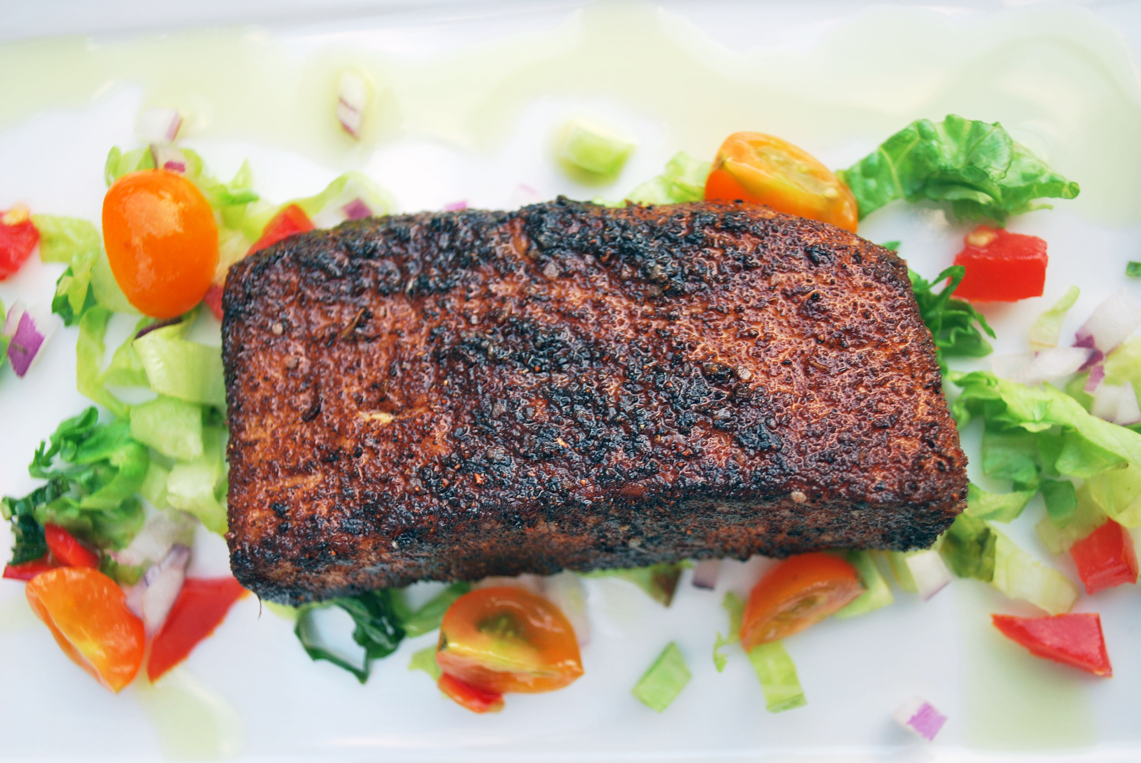 Blackened cobia and the nashville lifestyles bartender for Cobia fish recipe